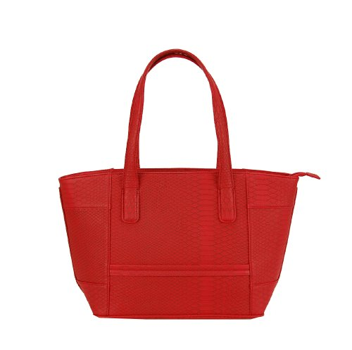 fash-limited-snake-texture-tote-handbag-zipper-pu-leather-handbag-red