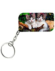 Cute Cats | ShopTwiz WOODEN Key Ring