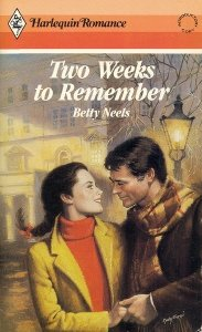 Image for Two Weeks To Remember (Harlequin Romance, No 2808)