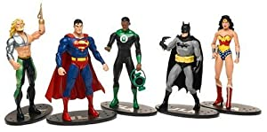 JLA Action Figures Gift Set of 5
