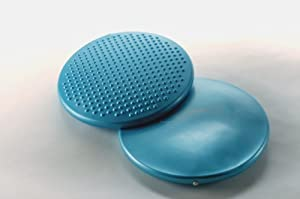 """FitBALL Seating Disc 15"""" Iridescent Blue (Poly Bag)"""