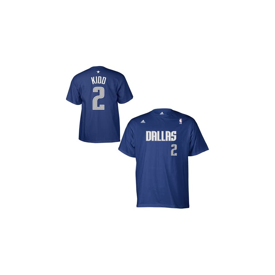 8511a374b adidas Dallas Mavericks Jason Kidd Gametime T Shirt on PopScreen