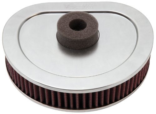 K&N Hd-1390 Harley Davidson High Performance Replacement Air Filter front-572534