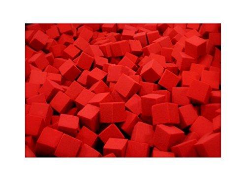 1000-pcs-Foam-Rubber-Pit-CubesBlocks-for-Gymnastics-Pits-6x6x6-Red-6x6x6