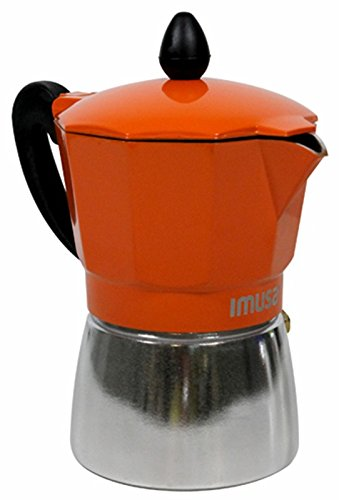 Espresso Coffee Maker Stove Top 3 Cup Capacity
