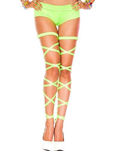 Rave Leg Wraps (Neon Green)