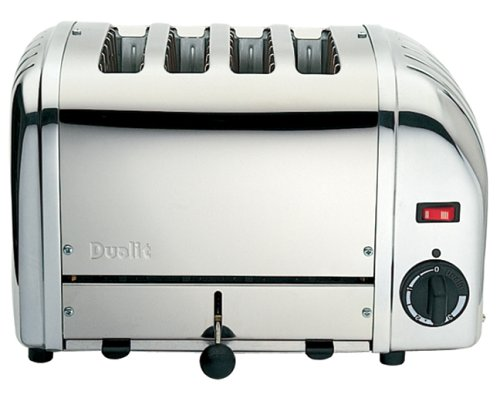 Dualit 4 Slice Stainless Steel Toaster by Dualit