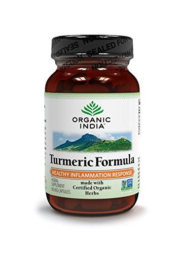 Organic India Turmeric Formula, 90 Vegetarian Capsules