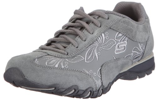 Skechers Womens Speedster Nottingham Charcoal Low-Top Trainers 99999478 7 UK, 40 EU