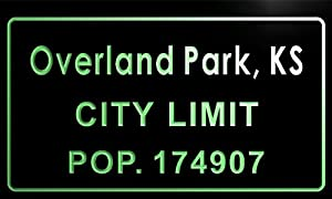 T69630 G Overland Park Ks City Limit Pop