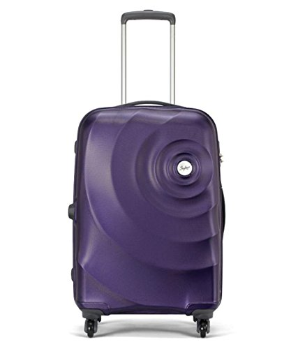 Skybags Polycarbonate 67 cms Purple Hardside Suitcases (FLINT67MDP)