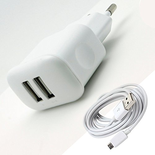 Webplaza Lg L 60i X137 Compatible Charger 2.1Am with Dual Usb Port Charger  available at amazon for Rs.299