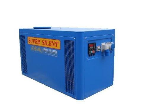 低騒音型発電機 50Hz 5.6kw