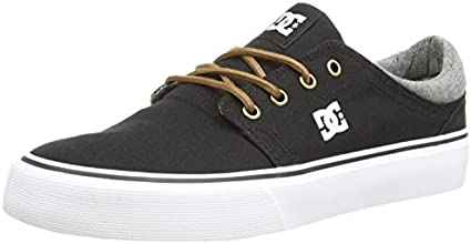 DC Shoes Trase Tx Se, Baskets mode homme - Noir (Black/Grey/Black) - 38-40 EU