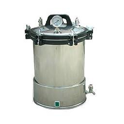 BJ 18L Medical Portable Pressure Steam Autoclave Sterilizer Stainless Steel YX-18LD 110V