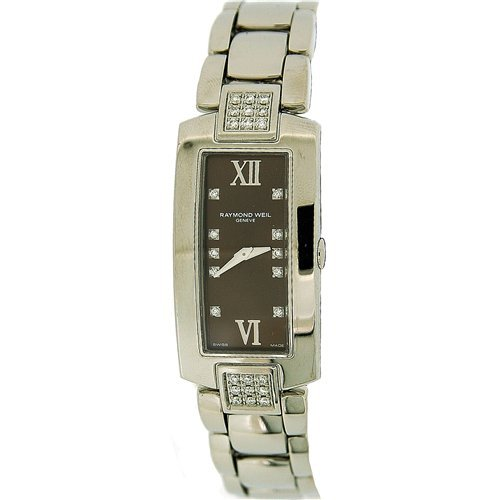 Raymond Weil Ladies Diamond Set Strap & Dial Interchangeable Strap Watch 00775