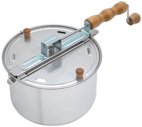 Wabash Valley Farms Whirley-Pop Stovetop Popcorn Popper 25008