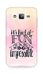 AMEZ its kind of fun to do the impossible Back Cover For Samsung Galaxy J2