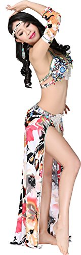 Abby Women's FF101 Sexy Noble India Belly Oriental Dance Practice Show Costume