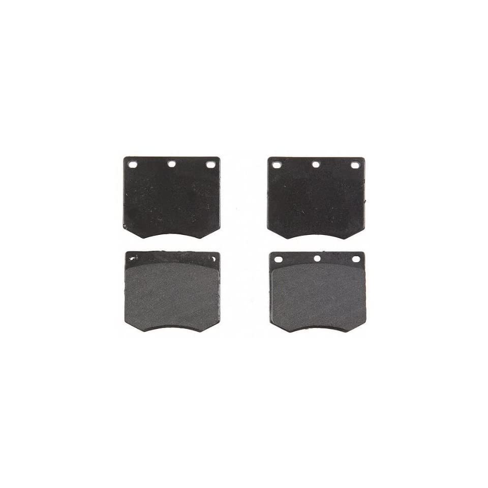 ACDelco 17D330 Professional Organic Front Disc Brake Pad Set