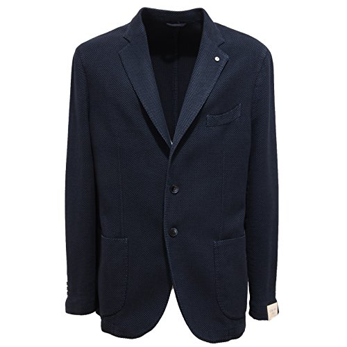 6342Q giacca uomo L.B.M. 1911 slim fit blu jacket men [58]