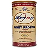 Solgar-Whey To Go(R) Whey Protein Powder Natural Chocolate Flavour 454g