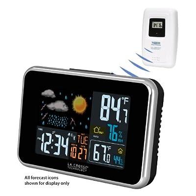 La Crosse S98642 Wireless Atomic Color Weather Station from La Crosse Technology