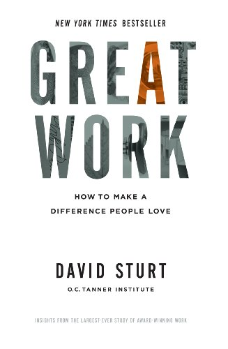 Great Work: How To Make A Difference People Love front-147695
