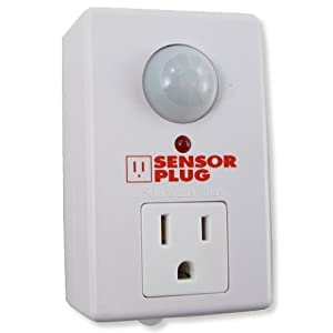 Sensorplug Motion Activated Electrical Outlet Plug