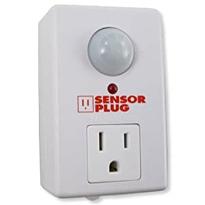 SensorPlug - Motion Activated Electrical Outlet - Plug Adapters - Amazon.com