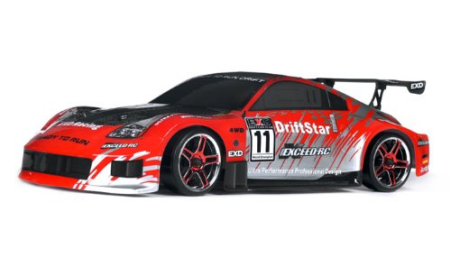 2.4Ghz Brushless Version Exceed RC Drift Star Electric Powered RTR Remote Control Drift Racing Car 350 - COLOR SENT AT RANDOM - PLEASE NOTE COLORS WILL BE SENT AT RANDOM