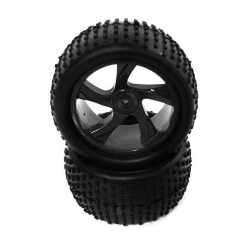Himoto 1:18 Rim & Tire Set for Truggy (2pcs) for E18XT/E18XTL