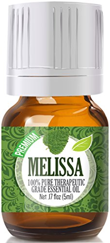 Melissa 100% Pure, Best Therapeutic Grade Essential Oil - 5ml