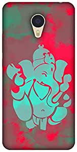 The Racoon Lean printed designer hard back mobile phone case cover for Meizu M3 Note. (pop ganesh)
