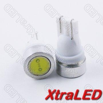 Lot Of 5 T10 194 1W 8-14V Led - White