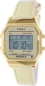 Timex Unisex TW2P76900AB Heritage Collection Digital Display Quartz Gold Watch