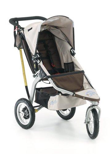 BOB 12-Inch Aluminum Wheel Stroller in Chocolate/Coffee
