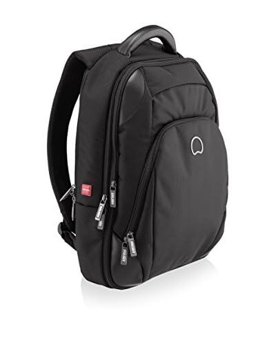 DELSEY Quarterback+ 15.6 Laptop Expandable Backpack, Black