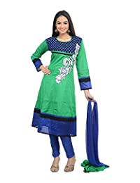Sareeshut Women's Cotton Regular Fit Anarkali Suits