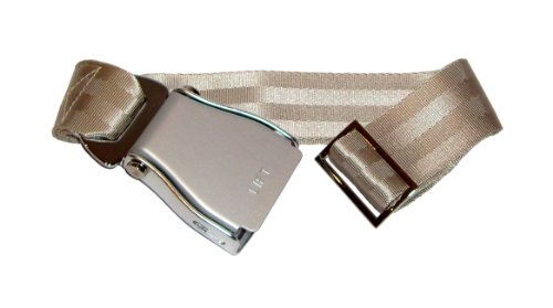 skybelt-avion-cinturon-plata-champan-flying-cinturon-seat-belt-longitud-ajustable