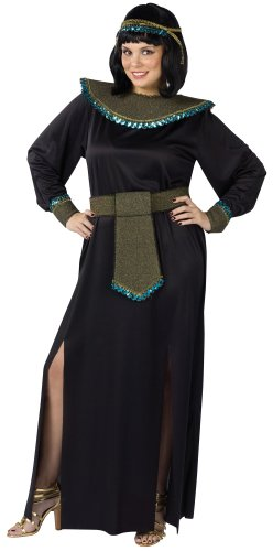 Black/Gold Cleopatra Adult (Plus) Costume
