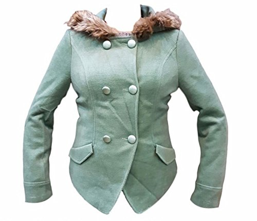 Women's Winter Jacket with Fur Pista Color