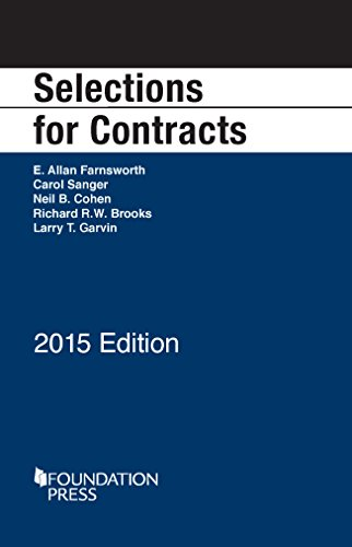 Selections for Contracts (Selected Statutes)