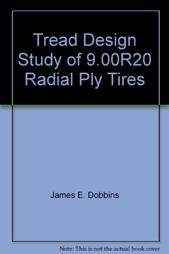 Tread Design Study of 9.00R20 Radial Ply Tires (Tires R20 compare prices)