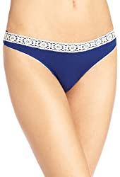 underella by ella moss Women's Crochet Lace Thong Panty