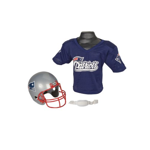 NFL New England Patriots Replica Youth Helmet and Jersey Set at Amazon.com