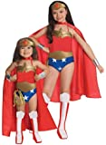Rubies DC Super Heroes Collection Deluxe Wonder Woman Costume, Toddler