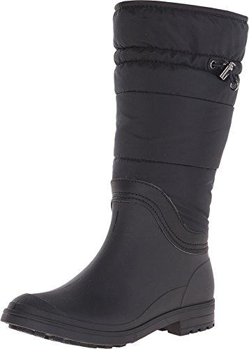 Kamik Women's Newcastle Insulated Rain Boot, Black, 9 M US (Amazon Womens Snow Boots compare prices)