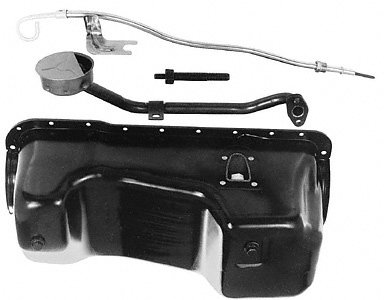 Ford Racing M6675A58 Oil Pan Kit, Includes Rear Sump, 6 Quart (Mustang Oil Pan compare prices)