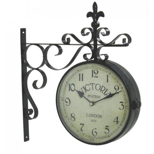 Vintage Victoria Station Railway Station Clock London - Reproduction